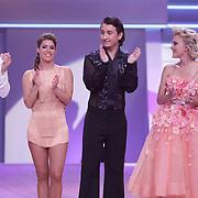 NLD/Hilversum/20120901 - 2de liveshow AVRO Strictly Come Dancing 2012, Danny Froger en danspartner Lorna van Dijk, Stacey Rookhuizen en danspartner Jeroen Struijlaart