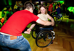 Barbara Meglic dancing during Closing ceremony at Day 4 of 16th Slovenia Open - Thermana Lasko 2019 Table Tennis for the Disabled, on May 11, 2019, in Thermana Lasko, Lasko, Slovenia. Photo by Vid Ponikvar / Sportida