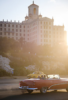HAVANA, CUBA - CIRCA MARCH 2017: Historic Hotel Nacional. A popular tourist attraction in Havana.