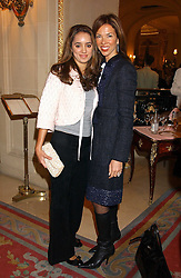 Left to right, JENNA BARCLAY and HEATHER KERZNER at a ladies lunch in aid of the NSPCC held at The Ritz, Piccadilly, London on 7th March 2006.<br /><br />NON EXCLUSIVE - WORLD RIGHTS