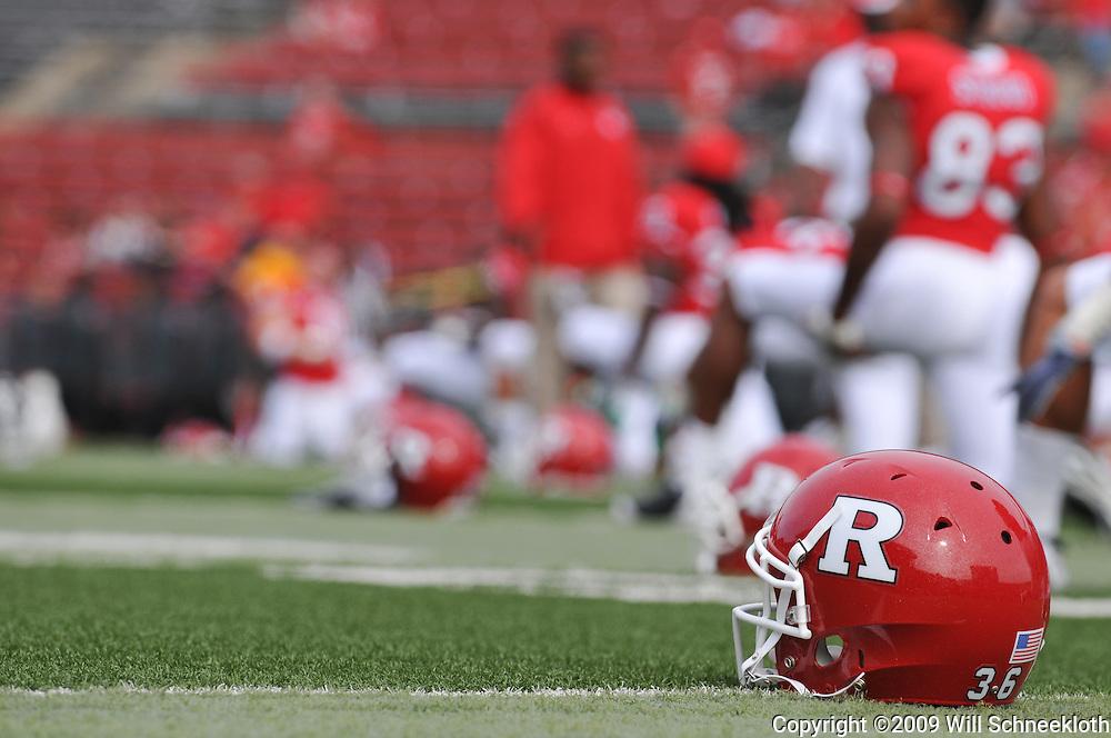 Sep 7, 2009; Piscataway, NJ, USA; Rutgers hosts Cincinnati in NCAA college football at Rutgers Stadium.