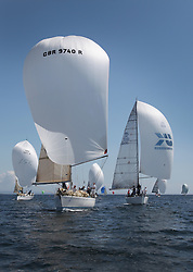 Final days' racing at the Silvers Marine Scottish Series 2016, the largest sailing event in Scotland organised by the  Clyde Cruising Club<br /> <br /> Racing on Loch Fyne from 27th-30th May 2016<br /> <br /> Class 2 downwind with GBR9740R, Sloop John T, Iain & Graham Thomson, CCC, Swan 40, IRL3061, Fools Gold, Robert McConnell, A35<br /> <br /> Credit : Marc Turner / CCC<br /> For further information contact<br /> Iain Hurrel<br /> Mobile : 07766 116451<br /> Email : info@marine.blast.com<br /> <br /> For a full list of Silvers Marine Scottish Series sponsors visit http://www.clyde.org/scottish-series/sponsors/