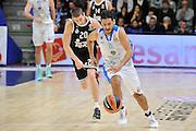 DESCRIZIONE : Eurolega Euroleague 2014/15 Gir.A Dinamo Banco di Sardegna Sassari - Real Madrid<br /> GIOCATORE : Massimo Chessa<br /> CATEGORIA : Palleggio Contropiede<br /> SQUADRA : Dinamo Banco di Sardegna Sassari<br /> EVENTO : Eurolega Euroleague 2014/2015<br /> GARA : Dinamo Banco di Sardegna Sassari - Real Madrid<br /> DATA : 12/12/2014<br /> SPORT : Pallacanestro <br /> AUTORE : Agenzia Ciamillo-Castoria / Luigi Canu<br /> Galleria : Eurolega Euroleague 2014/2015<br /> Fotonotizia : Eurolega Euroleague 2014/15 Gir.A Dinamo Banco di Sardegna Sassari - Real Madrid<br /> Predefinita :