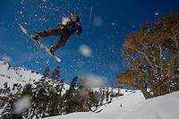 in Squaw Valley Ski Resort, Sunday April 25, 2010.Photo Brian Baer