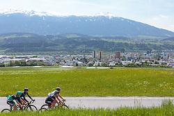 25.04.2018, Innsbruck, AUT, ÖRV Trainingslager, UCI Straßenrad WM 2018, im Bild Patrick Konrad (AUT), Stefan Denifl (AUT), Michael Gogl (AUT), Gregor Mühlberger (AUT) // during a Testdrive for the UCI Road World Championships in Innsbruck, Austria on 2018/04/25. EXPA Pictures © 2018, PhotoCredit: EXPA/ JFK
