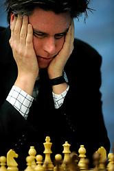 17-01-2011 SCHAKEN: TATA STEEL CHESS TOURNAMENT: WIJK AAN ZEE <br /> Sebastian Siebrecht GER  <br /> ©2010-WWW.FOTOHOOGENDOORN.NL