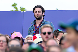 Former Maccabees guitarist Felix White watches on during the Cricket World Cup Final between England and New Zealand - Mandatory by-line: Robbie Stephenson/JMP - 14/07/2019 - CRICKET - Lords - London, England - England v New Zealand - ICC Cricket World Cup 2019 - Final
