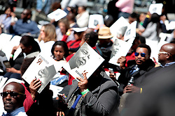 17/07/2017 <br /> Programmes are seen of Nelson Mandela Annual Lecture that will be delievered by the Former President of America Barack Obama at Wanderers Stadium, Johannesburg.<br /> Picture: Nhlanhla Phillips/African News Agency/ANA