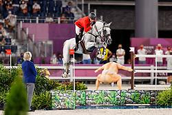 Wathelet Gregory, BEL, Nevado S, 312<br /> Olympic Games Tokyo 2021<br /> © Hippo Foto - Dirk Caremans<br /> 04/08/2021