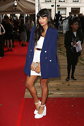 Jameela Jamil, Glamour Women of the Year Awards, Berkeley Square Gardens, London UK, 02 June 2014, Photos by Richard Goldschmidt /LNP © London News Pictures