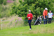 Emilio Cuartero Blanco (ESP) in the rough on the 2nd during Round 3 of the Northern Ireland Open in Association with Sphere Global & Ulster Bank at Galgorm Castle Golf Club on Saturday 8th August 2015.<br /> Picture:  Thos Caffrey / www.golffile.ie