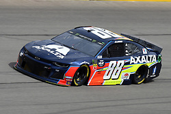 March 1, 2019 - Las Vegas, NV, U.S. - LAS VEGAS, NV - MARCH 01: Alex Bowman (88) Hendrick Motorsports Chevrolet Camaro ZL1 drives through turn four during practice for the Monster Energy NASCAR Cup Series 22nd Annual Pennzoil 400 on March 1, 2019, at the Las Vegas Motor Speedway in Las Vegas, Nevada. (Photo by Michael Allio/Icon Sportswire) (Credit Image: © Michael Allio/Icon SMI via ZUMA Press)