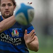 20181112 Rugby : Allenamento nazionale di rugby