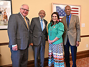6/25/21  Pictured ,James Meredith, second from left, Governor Walk, left, Lt Governor Peggy Flanagan and Terrence Rpberts of the Little Rock Nine.  and  Terrence Roberts of The Little Rock Nine, speak with Governor Tim Walz and Lt. Governor Peggy Flanagan.  Meredith says he was the George Floyd of his time, and today on his 88th Birthday is the sentencing of ex police officer Derek Chauvin. Meredith snd the Governor discussed racism, segregation, and how to solve these pressing issues facing communities across America.  Civil rights icon James Meredith is in Minnesota for More Than A Moment, a series of roundtable discussions with students, educators, lawyers, and community leaders and faith leaders to discuss ways to end racism and how to build strong community leaders. Meredith emphasized the importance of speaking the truth and working together to make change for the better in our communities. Photo © Suzi Altman 6/25/21  Pictured ,James Meredith, second from left, Governor Walz, left, Lt Governor Peggy Flanagan and Terrence Roberts of the Little Rock Nine.  Meredith says he was the George Floyd of his time, and today on his 88th Birthday is the sentencing of ex police officer Derek Chauvin for murdering George Floyd. Meredith and the Governor discussed racism, segregation, and how to solve these pressing issues facing communities across America.  Civil rights icon James Meredith is in Minnesota for More Than A Moment, a series of roundtable discussions with students, educators, lawyers, and community leaders and faith leaders to discuss ways to end racism and how to build strong community leaders. Meredith emphasized the importance of speaking the truth and working together to make change for the better in our communities. Photo © Suzi Altman