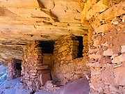 """Image of the Anasazi """"House on Fire"""" ruins."""