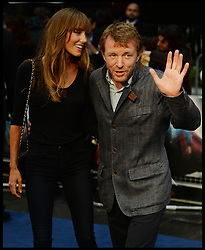 Guy Ritchie and Jacqui Ainsley arrive for The Man Of Steel European film premiere, Leicester Square, London, United Kingdom<br /> Wednesday, 12th June 2013<br /> Picture by Andrew Parsons / i-Images