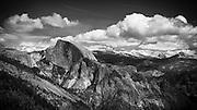 Half Dome from Yosemite Point, Yosemite National Park, California USA