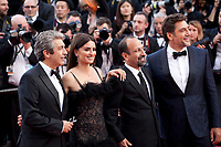 Ricardo Darin, Penelope Cruz, Director Asghar Farhadi and Javier Bardem at the Opening Ceremony and Everybody Knows (Todos Lo Saben) gala screening at the 71st Cannes Film Festival Tuesday 8th May 2018, Cannes, France. Photo credit: Doreen Kennedy