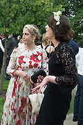NATHALIE REIFSCHNEIDER; KATERINA OTTMANN, 2016 SERPENTINE SUMMER FUNDRAISER PARTY CO-HOSTED BY TOMMY HILFIGER. Serpentine Pavilion, Designed by Bjarke Ingels (BIG), Kensington Gardens. London. 6 July 2016