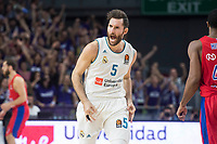 Real Madrid Rudy Fernandez during Turkish Airlines Euroleague match between Real Madrid and CSKA Moscu at Wizink Center in Madrid, Spain. October 19, 2017. (ALTERPHOTOS/Borja B.Hojas)