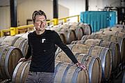 Lead winemaker Rican Rossouw at Lovinston Vineyards in Lovingston, Va. Photo/Andrew Shurtleff