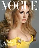 October 07, 2021 - WORLDWIDE: Adele Covers British Vogue Magazine