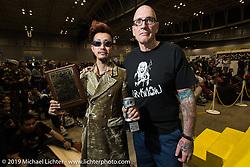 Duane Ballard at the annual Mooneyes Yokohama Hot Rod and Custom Show. Japan. Sunday, December 7, 2014. Photograph ©2014 Michael Lichter.