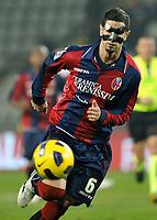 Miguel Britos (Bologna)<br /> Juventus Bologna - Campionato di calcio  Serie A Tim  2010-2011<br /> Stadio Olimpico, Milano, 26/02/2011<br /> © Insidefoto