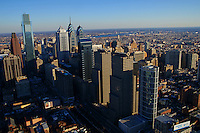 Aerial View, Center City, Philadelphia