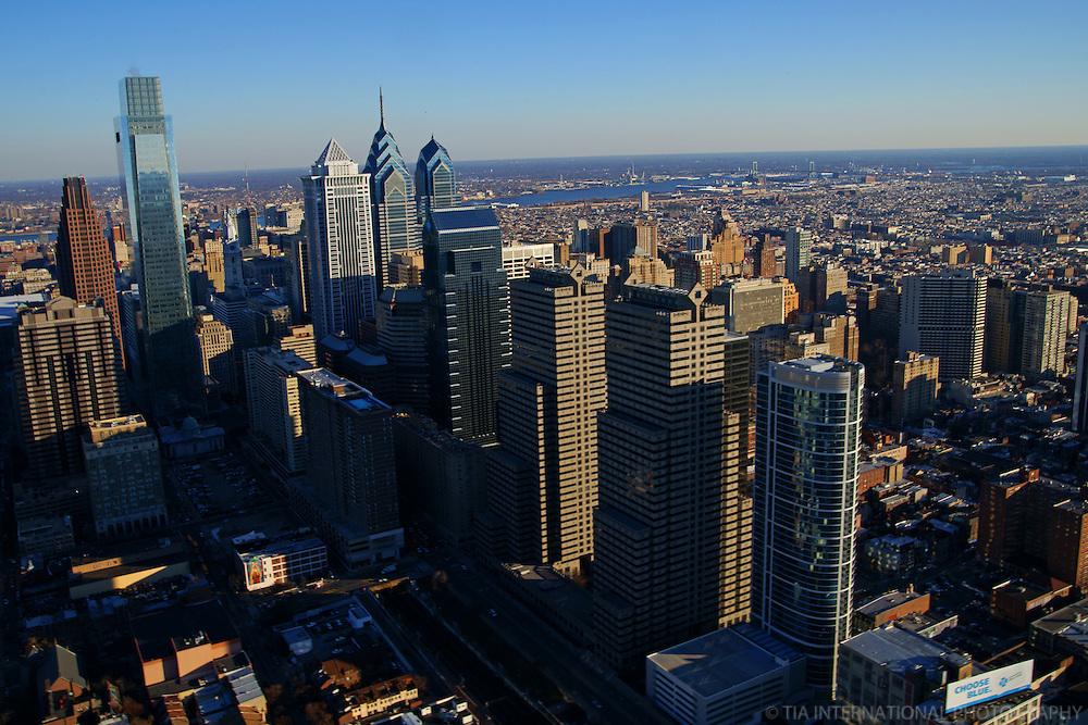 Aerial View, Center City, Philadelphia