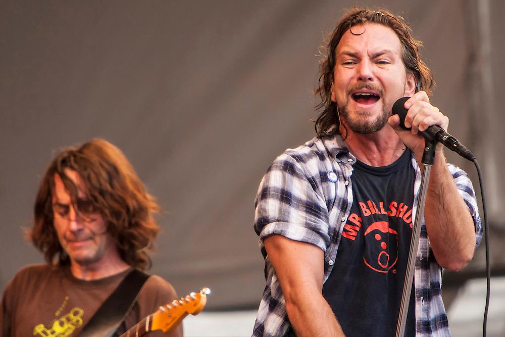 Pearl Jam New Orleans Jazz Festival