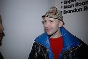 Michael Clark, The Secret public/The Last Days of the British Underground. 1978-1988. I.C.A. London.  21 March 2007.  -DO NOT ARCHIVE-© Copyright Photograph by Dafydd Jones. 248 Clapham Rd. London SW9 0PZ. Tel 0207 820 0771. www.dafjones.com.