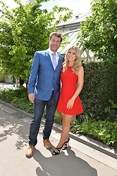 NICK KNOWLES and JESSICA KNOWLES at the 2016 RHS Chelsea Flower Show, Royal Hospital Chelsea, London on 23rd May 2016