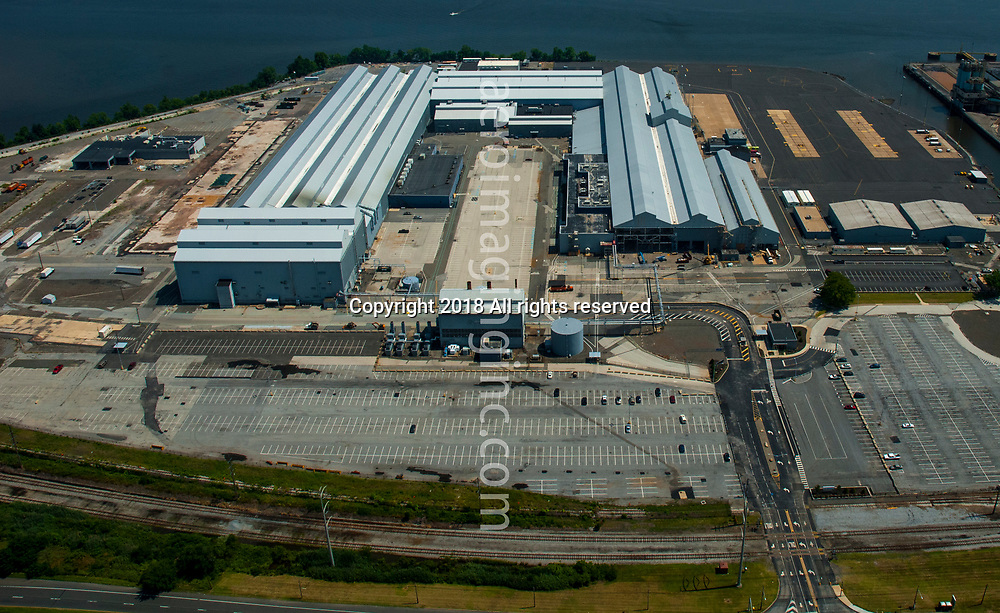 Aerial view of Boeing Helicopters Center 3 South