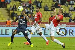 September 29, 2017 - Monaco, France - Souleymane Camara (Montpellier) - Jemerson (AS Monaco) - Kamil Glik  (Credit Image: © Panoramic via ZUMA Press)