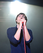 COLUMBIA, MD - May 11th,  2013 -   Thomas Mars  of Phoenix performs at the 2013 Sweetlife Music and Food Festival at Merriweather Post Pavilion in Columbia, MD.  (Photo by Kyle Gustafson/For The Washington Post)