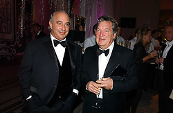Left to right, PHILIP GREEN and GEORGE DAVIS founder of Next at the British Fashion Awards 2006 sponsored by Swarovski held at the V&A Museum, Cromwell Road, London SW7 on 2nd November 2006.<br /><br />NON EXCLUSIVE - WORLD RIGHTS