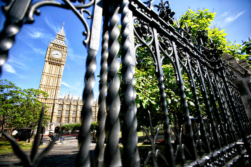 A Horizontal photo of Big Ben, Westminster, London, England.
