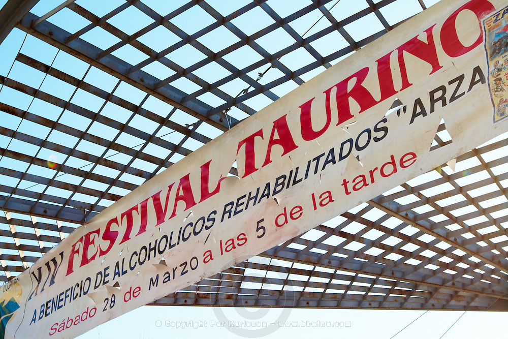 XIVth bull fighting festival for the benefit of rehabilitated alcoholics , Zamora spain castile and leon