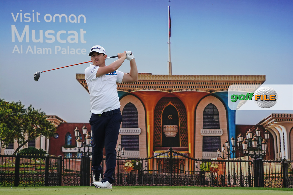 Darius Van Driel (NED) on the 7th during Round 1 of the Oman Open 2020 at the Al Mouj Golf Club, Muscat, Oman . 27/02/2020<br /> Picture: Golffile   Thos Caffrey<br /> <br /> <br /> All photo usage must carry mandatory copyright credit (© Golffile   Thos Caffrey)