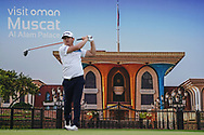 Darius Van Driel (NED) on the 7th during Round 1 of the Oman Open 2020 at the Al Mouj Golf Club, Muscat, Oman . 27/02/2020<br /> Picture: Golffile | Thos Caffrey<br /> <br /> <br /> All photo usage must carry mandatory copyright credit (© Golffile | Thos Caffrey)