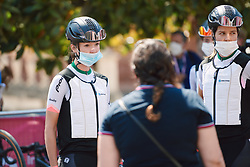 Nina Buysman (NED) at Strade Bianche - Elite Women 2020, a 136 km road race starting and finishing in Siena, Italy on August 1, 2020. Photo by Sean Robinson/velofocus.com