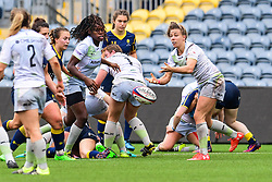 Nina Vistisen of Saracens Ladies in action - Mandatory by-line: Craig Thomas/JMP - 30/09/2017 - RUGBY - Sixways Stadium - Worcester, England - Worcester Valkyries v Saracens Women - Tyrrells Premier 15s