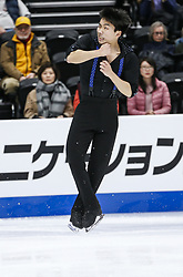February 7, 2019 - Los Angeles, California, U.S - Tomoki Hiwatashi of USA competes in the Men Short Program during the ISU Four Continents Figure Skating Championship at the Honda Center in Anaheim, California on February 7, 2019. (Credit Image: © Ringo Chiu/ZUMA Wire)