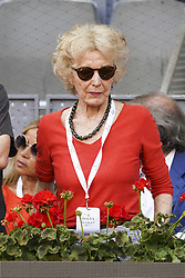 May 12, 2019 - Madrid, Spain - Marisa paredes attend the men's final during day 9 of the Mutua Madrid Open at La Caja Magica on May 12, 2019 in Madrid, Spain. (Credit Image: © Oscar Gonzalez/NurPhoto via ZUMA Press)
