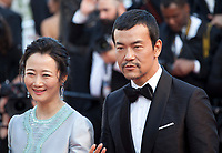 Actor Fan Liao, actress Tao Zhao, at the Ash Is The Purest White (Jiang Hu Er Nv) gala screening at the 71st Cannes Film Festival, Friday 11th May 2018, Cannes, France. Photo credit: Doreen Kennedy