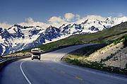 British Columbia, Alaska. Haines highway mile 52.2 northwest of Haines.Near Chilkat Pass.