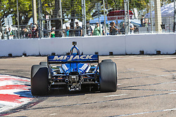 March 8, 2019 - St. Petersburg, Florida, U.S. - TAKUMA SATO (30) of Japan goes through the turns during practice for the Firestone Grand Prix of St. Petersburg at Temporary Waterfront Street Course in St. Petersburg, Florida. (Credit Image: © Walter G Arce Sr Asp Inc/ASP)