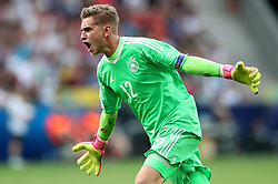 Germany goalkeeper Julian Pollersbeck celebrates