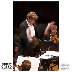 James Judd;Vesa-Matti Leppänen at the NZSO 60th Anniversary Concert at Wellington Town Hall, Wellington, New Zealand.